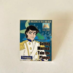 Prince Eric Magazine Disney Pin Limited Edition